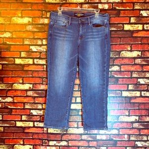 Size 10/30 Sweet'N Crop Lucky Brand Jeans